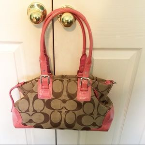 Well loved Coach satchel